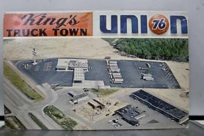 Kentucky KY Corbin King's Truck Town Union 76 Postcard Old Vintage Card View PC