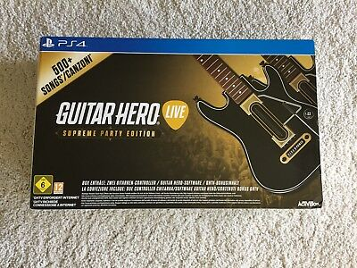 Guitar Hero Live - Supreme Party Edition - [PlayStation ... | Game | Zustand gut