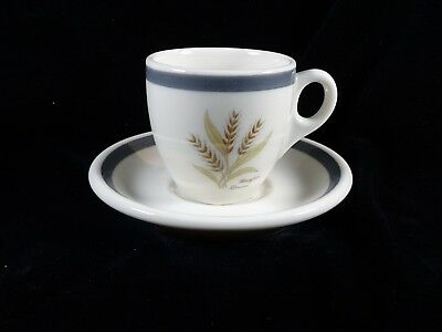 Mayfair and Lennox Hotels (St. Louis) Demi Cup and Saucer - Syracuse China