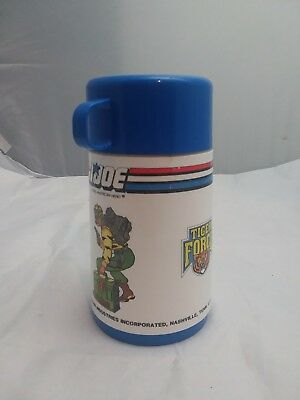 1980's GI Joe tiger force vintage Lunchbox Thermos