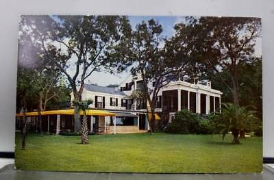 Mississippi MS Pascagoula Longfellow House Postcard Old Vintage Card View Post