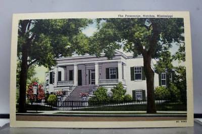 Mississippi MS Natchez Parsonage Postcard Old Vintage Card View Standard Post PC