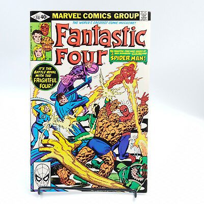 Fantastic Four #218 Bronze Age Marvel Comics Jack Kirby VF/NM