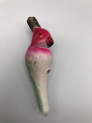 Vintage Figural Christmas Light Bulb - C6 15V Japan - Parrot Bird