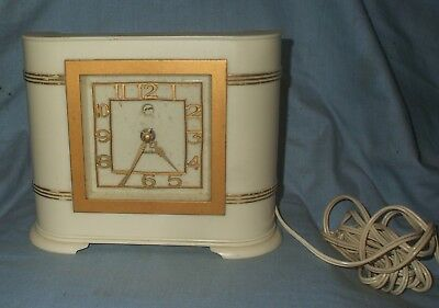 *Art Deco Bakelite Electric Mantle Clock* - FULLY WORKING