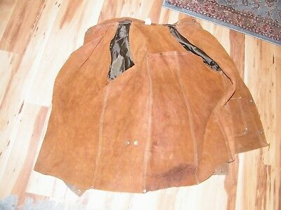 "Tillman 3830 Split Cowhide 30"" Heavy Duty Leather Welding Jacket Size 2XL"