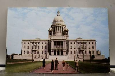 Rhode Island RI Providence State House Postcard Old Vintage Card View Standard