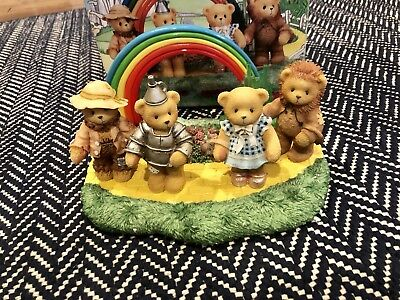 RARE Cherished Teddies WIZARD OF OZ Limited Edition 5 pc. Collector Set 1998