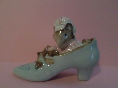 Beatrix Potter old woman who lived in a shoe 1959 Beswick England figurine
