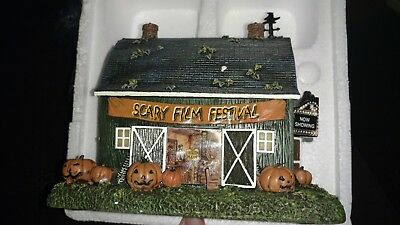 "John Deere Halloween Village Collection""The Old Barn Theater"""