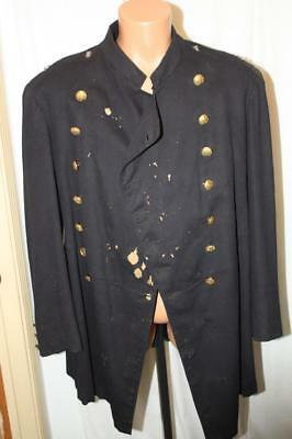 Original US Officer Army Frock Coat Indian Wars? Id'd Inside Pocket 19th Century