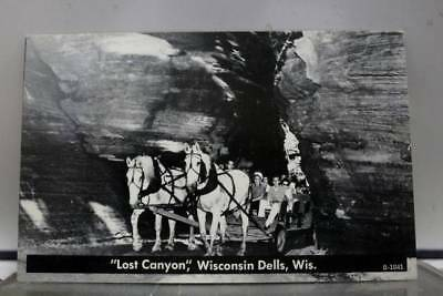Wisconsin WI Lost Canyon Dells Postcard Old Vintage Card View Standard Souvenir