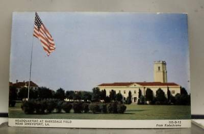 Louisiana LA Barksdale Field Shreveport Postcard Old Vintage Card View Standard