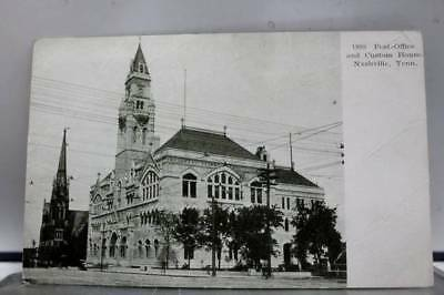 Tennessee TN Post Office Custom House Nashville Postcard Old Vintage Card View