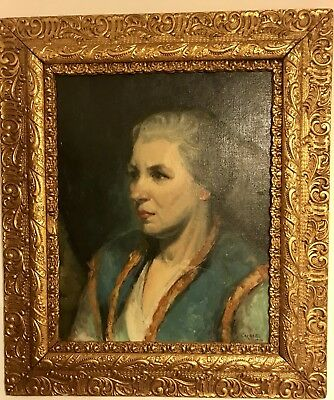 Original Antique Oil Painting Signed Carbee dated 1930