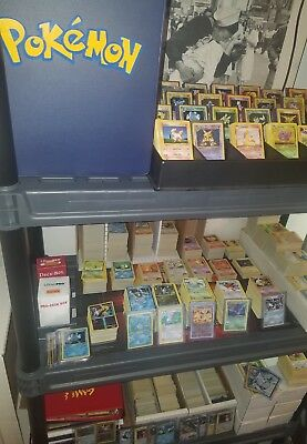 BEST Lot of 100 Pokemon cards. Guaranteed EX HOLOS RARES 1ST Edition!! *LOOK!*
