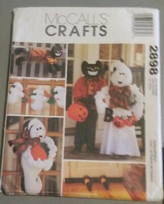 McCalls 2898 Craft Sewing Pattern Halloween