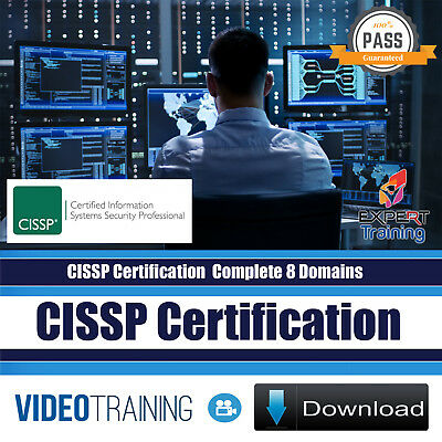 CISSP Certification 2018 Complete 8 Domains 54 Hrs Video Training Course DOWNLOA