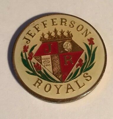 1978 Krewe Of Jefferson Royals Multi Heavy Doubloon New Orleans Mardi Gras