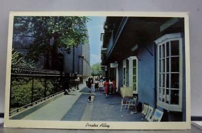 Louisiana LA Pirates Alley New Orleans Postcard Old Vintage Card View Standard