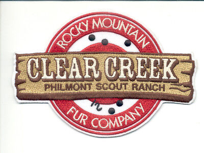 Patch From Philmont Scout Ranch - Outpost -Clear Creek