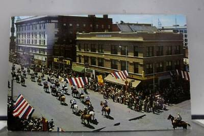 Wyoming WY Frontier Days Parade Cheyenne Postcard Old Vintage Card View Standard