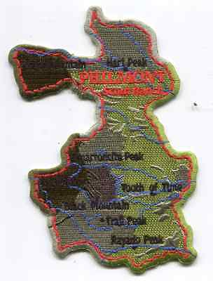 Patch From Philmont Scout Ranch - Outpost -Philmont Map
