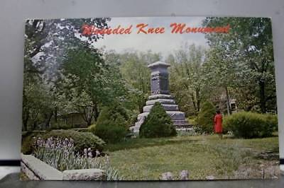 Kansas KS Wounded Knee Monument Fort Riley Postcard Old Vintage Card View Post