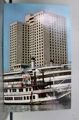 Louisiana LA New Orleans Hilton Hotel Postcard Old Vintage Card View Standard PC