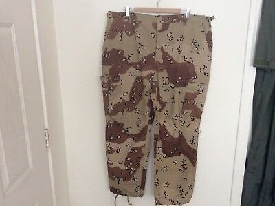 Marine Corps, US Army Desert Storm 6 Color Combat Trousers X-Large Short