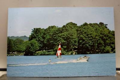 Scenic Edinboro Lake Postcard Old Vintage Card View Standard Souvenir Postal PC