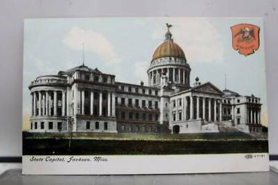 Mississippi MS State Capitol Jackson Postcard Old Vintage Card View Standard PC