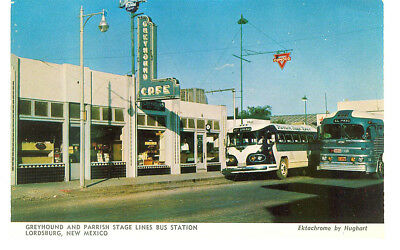 Greyhound Bus Station & Cafe Lordsburg New Mexico