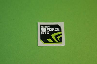 Nvidia Geforce GTX Sticker 7x Pieces Pcs Sticker Laptop Label Logo New Edition