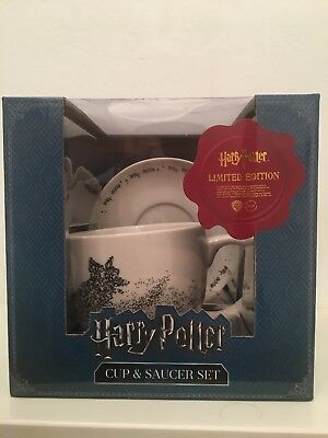 PRIMARK HARRY POTTER LIMITED EDITION CUP AND SAUCER SET Bnwt