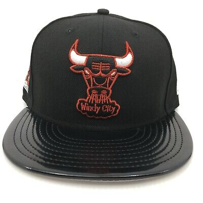 0b887f55f16 New Era Chicago Bulls Black Red Air Jordan Retro XI 11 72-10 Snapback Hat
