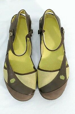 111844a3cac334 TEVA WOMEN S SIZE 8.5 Westwater Sport Mary Jane Sandals Shoes Green ...