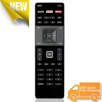 XRT122 for Smart TV Vizio Remote Control w Amazon Netflix IHeart Radio APP Key