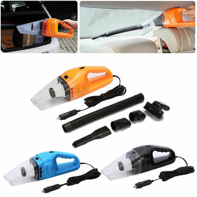 120W 12V Auto Car Home Vacuum Cleaner Portable Air Pump Handheld Wet/Dry Hoover