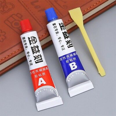 AB Glue, Extra Strong Adhesive, Super Bond, Hardener,Plastic,Metal,Wood Glue