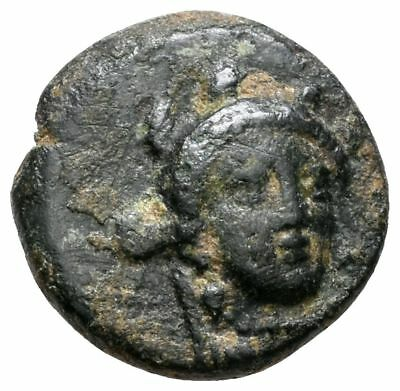 Koc Greek Coins.MYSIA.Eleutheria (BC 4th cent) AE10 11mm. 1,15g.Very Rare