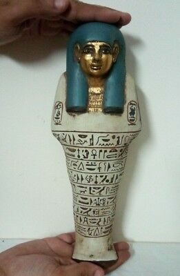 ANCIENT EGYPTIAN ANTIQUE USHABTI HATSHEPSUT Tomb Artifact 1479-1458 BC