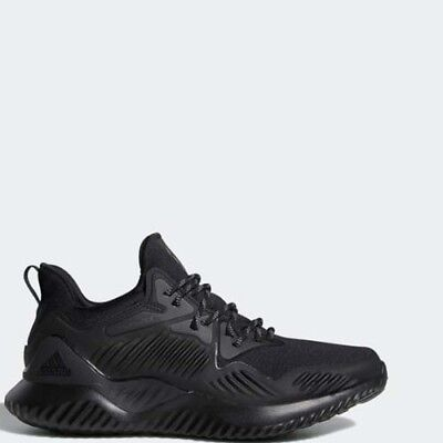 new style 22e6e c5ca6 Adidas B76046 Alpha bounce Beyond Running shoes black sneakers