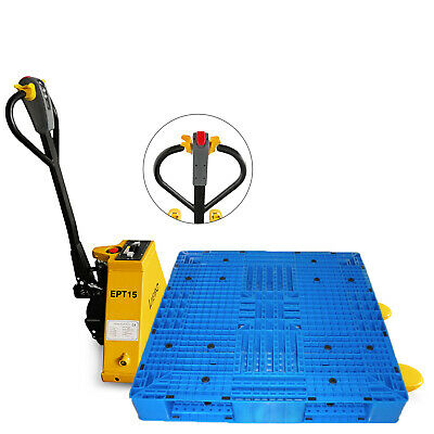 1.5T/3300LBS Electric Pallet Jack Warehouse Lithium Battery Power