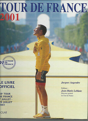 le livre officiel du Tour de France 2001 Solar