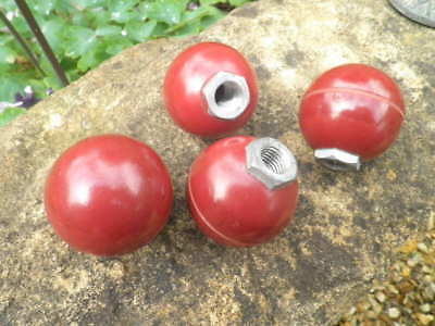 4No Reclaimed Industrial Knobs / Classic Car / Boat/ Retro / Furniture/ Hooks./