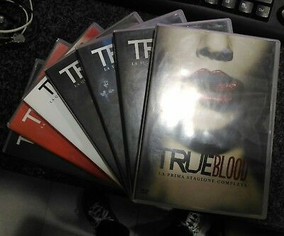 True Blood DvD dalla 1a alla 7a Stagione Complete