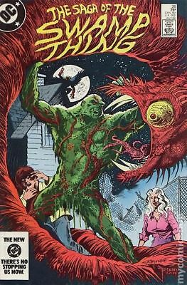 Swamp Thing (2nd Series) #26 1984 FN+ 6.5 Stock Image