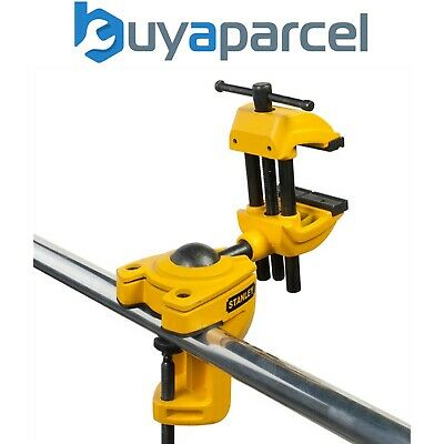 360 Pivotant Base Rotation 60 mm Jaw Table Vice Inc Anvil /& Work Bench Clamp