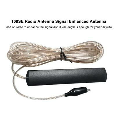 Home Indoor Radio FM Stereo Antenna Signal Gain Amplifier Booster Universal L6I2